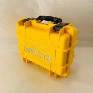 INVICTA 8 Slot Yellow Watch Case
